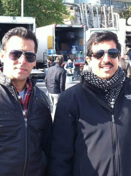 ★ Salman Khan and Kabir Khan in Istanbul during Ek Tha Tiger's shooting (October/November 2011) !! via minimathur