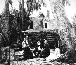 "Florida faces, Harriett Beecher Stowe.  ""Uncle Tom's Cabin"", written by Harriett in 1852, was listed as one of the books that helped shape America by the Library of Congress. For the complete list - so you can debate the books with your friends - visit the Library of Congress web site."