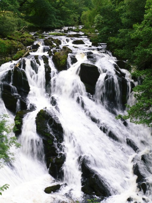 iknowtheworldisabrokenbone:  My waterfall photo from Swallow Falls