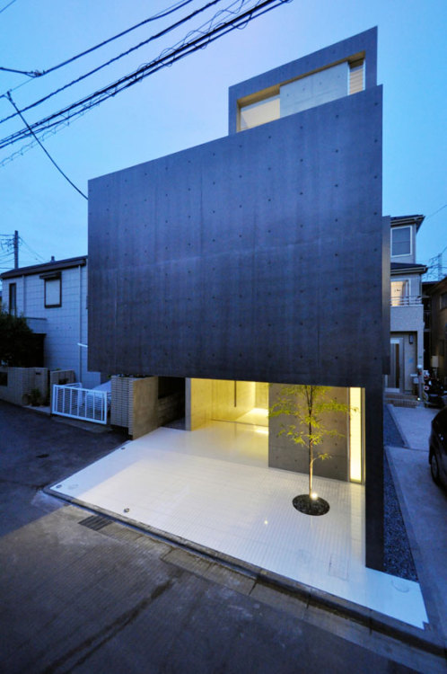 animal-vegetable-mineral:  House in Kaijin - Fuse Atelier, Japan