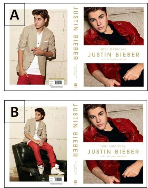 """Guess which pic is the back cover of my new book to win a signed copy.�Use�#JustGettingStarted�and guess A or B to win. I?ll pick 10 winners in 24 hours. LEGGO!"""
