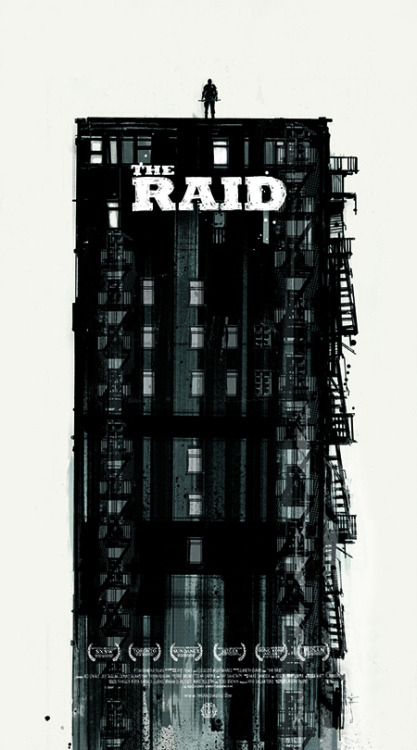 Very cool poster from the artist known as Jock & the awesome movie The Raid. Check out the details about it and how you can own it here: http://bit.ly/TDc99W