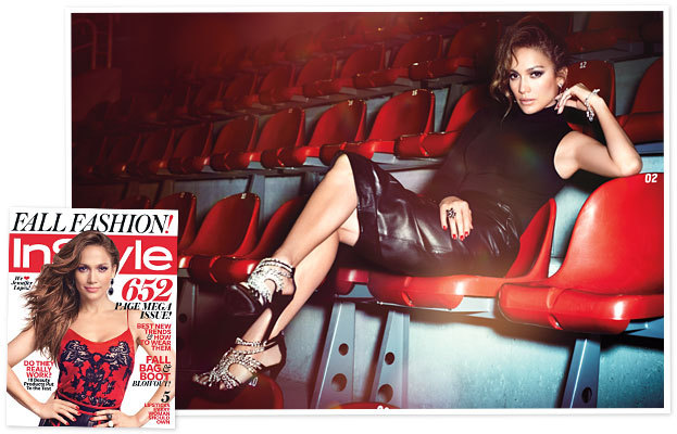 "Jennifer Lopez Covers InStyle, September 2012 How she survived the tough times: ""You realize that those difficult moments, the times when you feel pain, are when you do a lot of your growing."" —Jennifer Lopez"