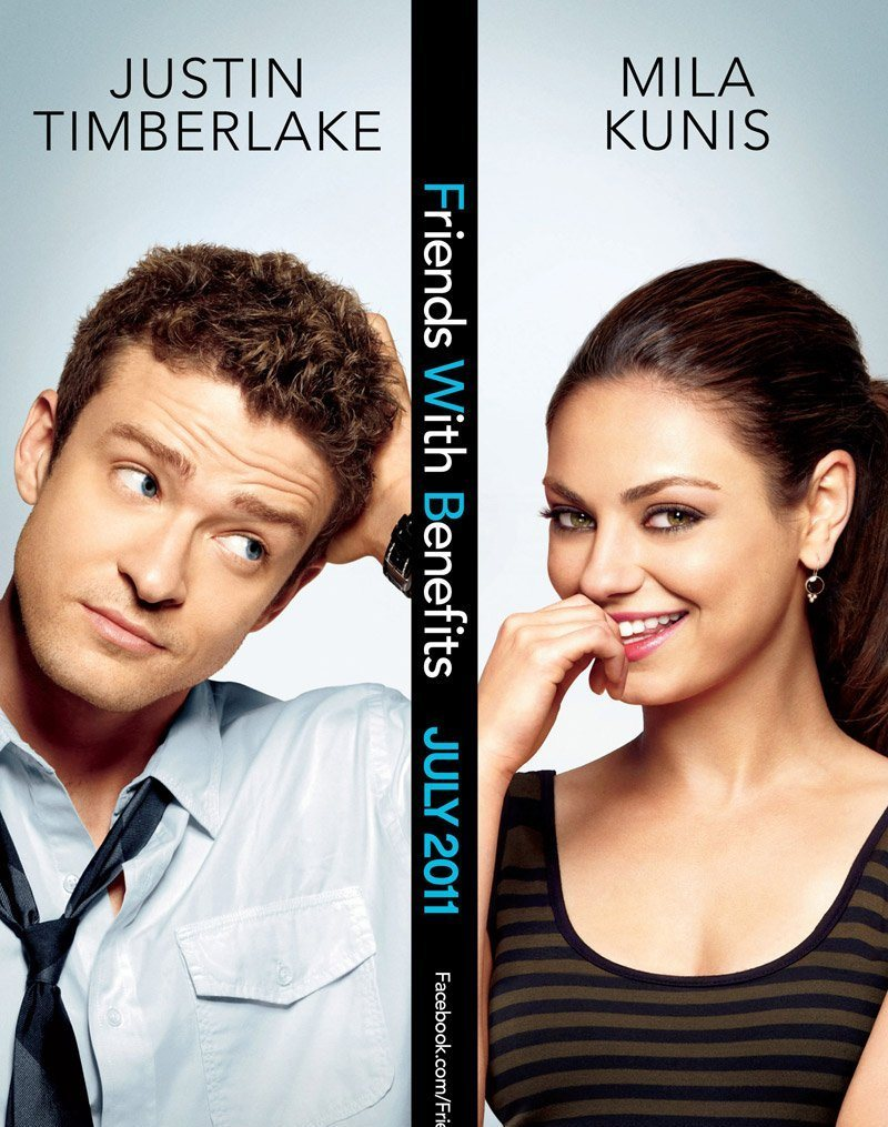 Friends with Benefits is a 2011 American romantic comedy film directed by Will Gluck and starring Mila Kunis and Justin Timberlake. The film features a supporting cast which includes Woody Harrelson, Bryan Greenberg, Jenna Elfman, Richard Jenkins, Nolan Gould and Patricia Clarkson