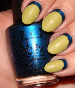 OPI Germany in Ruffian style!