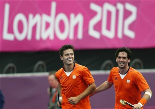 Robbert Kemperman and Robert van der Horst Team Netherlands Hockey