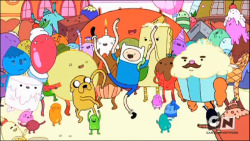 my favorite show ever :'3 Adventure Time!