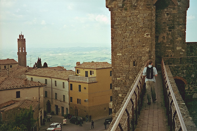 | ♕ |  Walk on the Medieval Fortress - Montalcino  | by © dalem