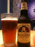 "100 Beers in 100 Days taps out beer number eight with Wells Banana Bread Beer. That's right. You heard me. Banana Bread Beer. Now I'll admit, my first thought to putting ""banana"" and ""beer"" together is ""…really? idk…"" and then my mind dissolved into Doctor Who and Arrested Development references. When I snapped to it I realized that I love beer and I love banana bread so this had a great deal of potential either way. And I have to say… This. Beer. ROCKS!  This tastes EXACTLY like banana bread beer should. I found it to be perfectly balanced and a gorgeous color that I would paint on my walls if I could (I haven't ruled out that I won't honestly.) This was just a treat to enjoy. The worst thing about it is that it made me crave actual banana bread.  This beer wins the first perfect score of 100 Beers in 100 Days (and I rate harshly so that's impressive for me) 10 out of 10 for this yummmmmmy brew."