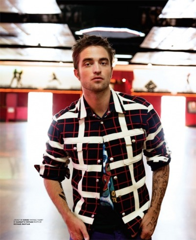 Robert Pattinson for BlackBook Magazine [Sept 2012]