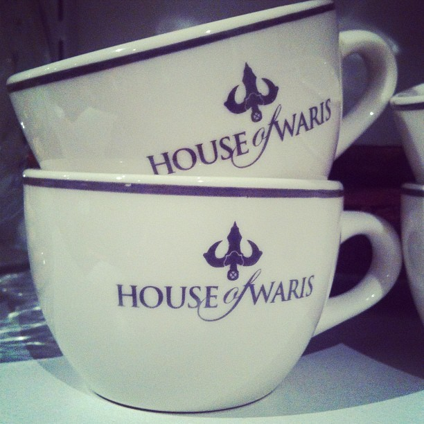 Hanging with Waris at the @HOUSE_of_WARIS (Taken with Instagram)
