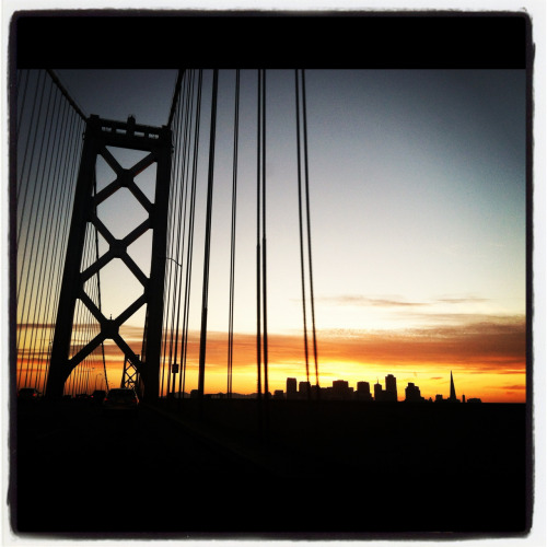 Bay Bridge, SF, ca