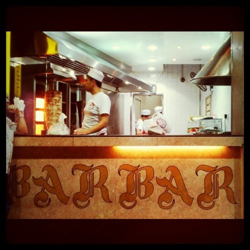royalistme:  #best #food #ever #heaven on earth #barbar #hamra #beirut #lebanon (Taken with Instagram)