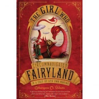 "The Girl Who Circumnavigated Fairyland In A Ship Of Her Own Making; or, why it is important to listen to one's friends I read this book this week, and must report: it was absolutely delightful and I highly recommend it! I feel very foolish about that. This is because my friend Jenn recommended it with the same enthusiasm when it first came out, over a year ago. An occupational hazard of the book business is that I often do not read books I know I will like, precisely because I know that I will like them. One only needs a certain level of knowledge of a book to be able to talk about it effectively. Let's give that level the value of Q, where A is ""never heard of it"" and Z is ""writing a dissertation about it."" The most direct way to obtain a Q-level knowledge of a book is to read it. However, it is possible to build from A to B to H to M to Q by seeing a book in a catalog, and then seeing a bookseller blurb for it in an email, and then reading a few reviews, and then having a close friend read it and tell you about it. This happens all the time, and is why booksellers and librarians occasionally sound very smart when you ask them for book recommendations. It is also why I do not read books I know I will love. I know I will love them. I have been interested in them since I first saw them in a catalog; I have added them to the TBR pile after seeing a bookseller blurb; I have bumped them up the piles after reading a few reviews; and they have languished there after a close friend, using hand gestures, enthused about them. With only a couple hours a day to read, coupled with a lifelong obsession with trying to know everything, I too-frequently choose to get Q-level knowledge about a totally new title, as I already have it for the book I know I will love. With the best of intentions, mind you. The more Q-levels I squirrel away in my mind-cheeks, the better I can be at my job. Sometimes I think this is the main reason I keep buying books despite the mound of TBRs I have yet to R: that many more potential Qs. And also I get to avoid the sadness of actively avoiding all the books I know I will love by plucking just one off the stack. It is books like The Girl Who Circumnavigated Fairyland In A Ship Of Her Own Making that make me feel really stupid about this stupid habit. It is fantastic! I really, really loved it! God, I wish I knew a kid who was 8 or 9 so I could experience it again by reading it out loud to them! Lord! How could I have neglected this book for so long?! Jenn was right, per usual, and anybody who likes fantasy, The Phantom Tollbooth, fairy tales that don't suck, or pitch-perfect chapter books or things like that ought to give this one a go. Just know that the longer you take getting around to it, the stupider you'll feel."