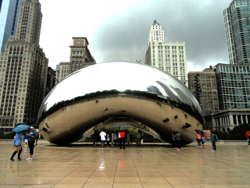 Cloud Gate, Millennium Park, Chicago, 2012.