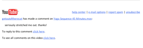 "brettlarkin:  Someone I do not know felt ""stretched"" by my first yoga sequence. Yeay! So happy.   imagine my surprise seeing this as i scrolled through the yoga tag…lmao"