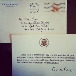 Letter to my Grandfather on my dad's side.  (Taken with Instagram)