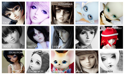 Which one of my dolls would you adopt? : )