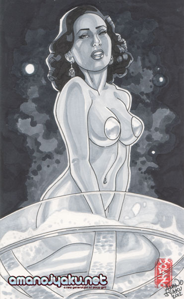 I love Dita! I could draw her all day. Just wanted to share a quickie Copic Marker sketch I did of her. ^_^