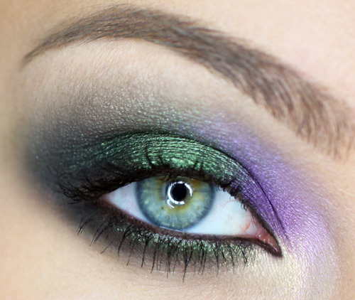Gorgeous Roberto Cavalli Fall 2012 inspired eye makeup by Catherine G.!