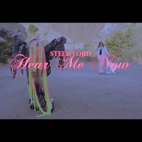 'Hear Me Now' World Video Premiere on http://imfmag.com #steedlord2012 #hearmenow  (Taken with Instagram)