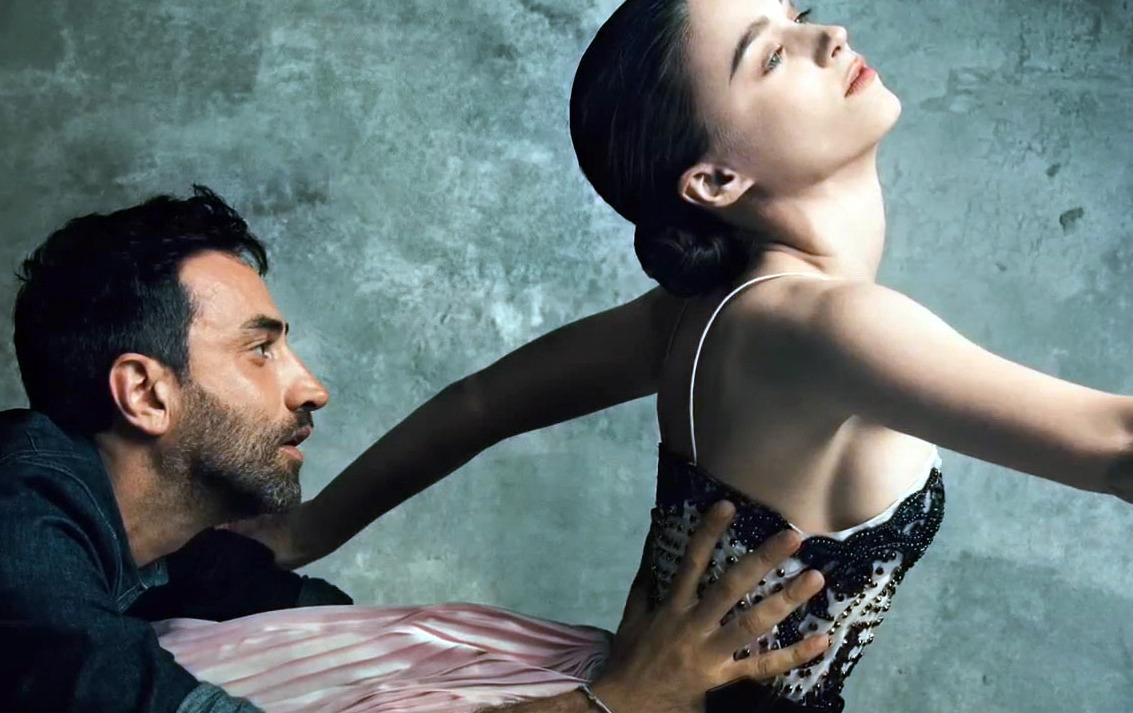 Riccardo Tisci and Rooney Mara photographed by Norman Jean Roy for Vogue, September 2012