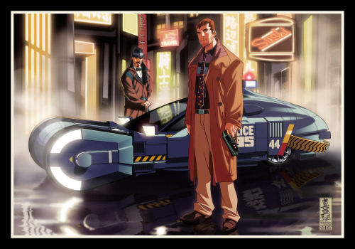 she-dreamt-she-was-a-bulldozer:  Bladerunner: The Animation by `diablo2003  Ah, I forgot about this. Love it!
