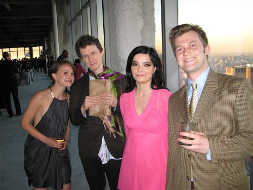 Björk, Nathalie Portman, Michel Gondry - Downtown Dinner (2007)