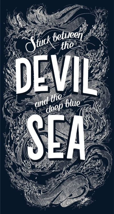visualgraphic:  Stuck between the Devil and the deep blue Sea