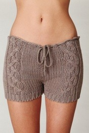 What Would Khaleesi Wear?Cable Knit Shorts