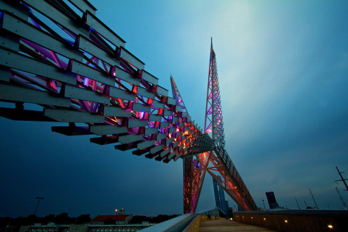 Skydance Bridge, Oklahoma City, OK