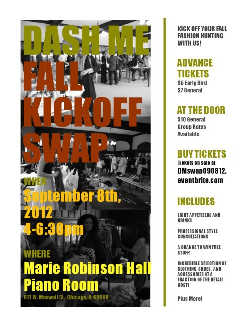 Dash Me Hosts the ultimate Fall Fashion Event! Early Bird Tickets on sale now!