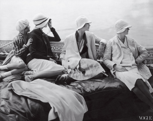 Vogue by Edward Steichen, July 15th 1928