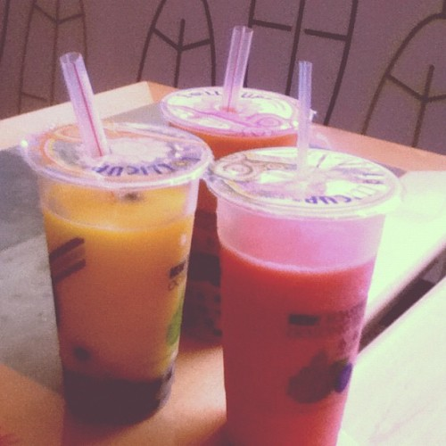 Because I haven't had boba in forever.  (Taken with Instagram)