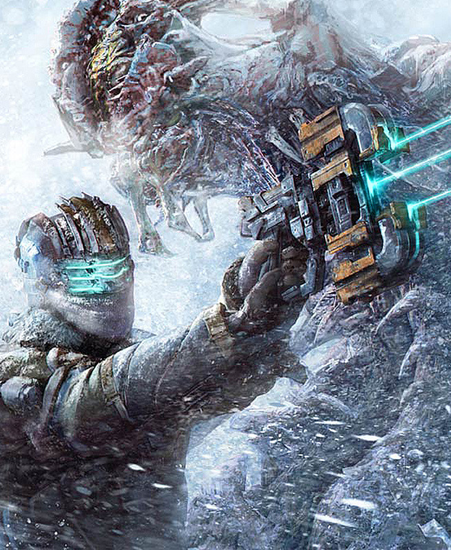 gamefreaksnz:  Dead Space 3 gets release date, trailer & screens  During their Gamescom press conference, EA has confirmed that Dead Space 3 will release next February.  Dead Sapce, another great game series that I fell in love with after I played the first game. I was able to buy the Collectors edition of the second game, and all i have to say is that it was AMAZING!