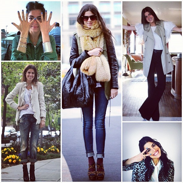 We can't get enough of Leandra Medine's style – which is why we snagged her for our Fall fashion book!  For the behind-the-scenes scoop on her photoshoot, check out mBLOG where The Man Repeller spills all!
