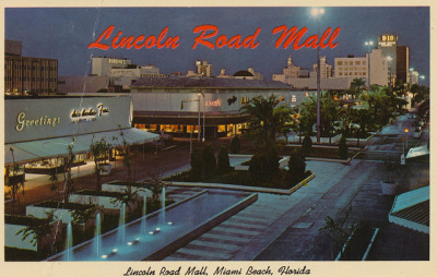 Lincoln Road Mall - Miami Beach, Florida by The Pie Shops on Flickr.