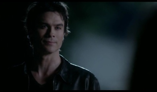 "Ian Somerhalder as Damon Salvatore on The Vampire Diaries (still) S3E22 ""Damon met Elena first"""