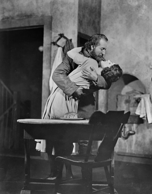 Otto Kruger and Alice Brady in Karl and Anna, 1929