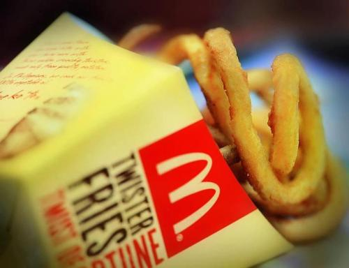 I've never eaten a McDonald's Twister fries. I want to. Don't judge me.