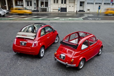 whereisthecoool:  The Evolution of the Fiat 500