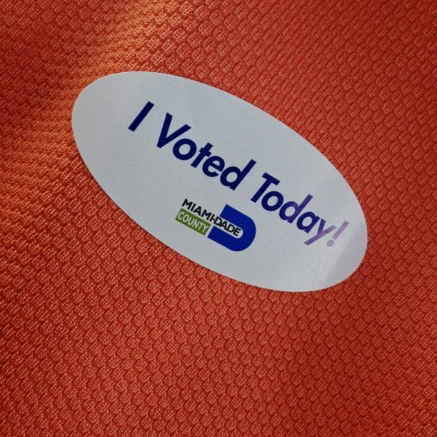 Voted! (Taken with Instagram)
