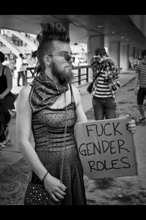 thenextrevolution:  Fuck gender roles