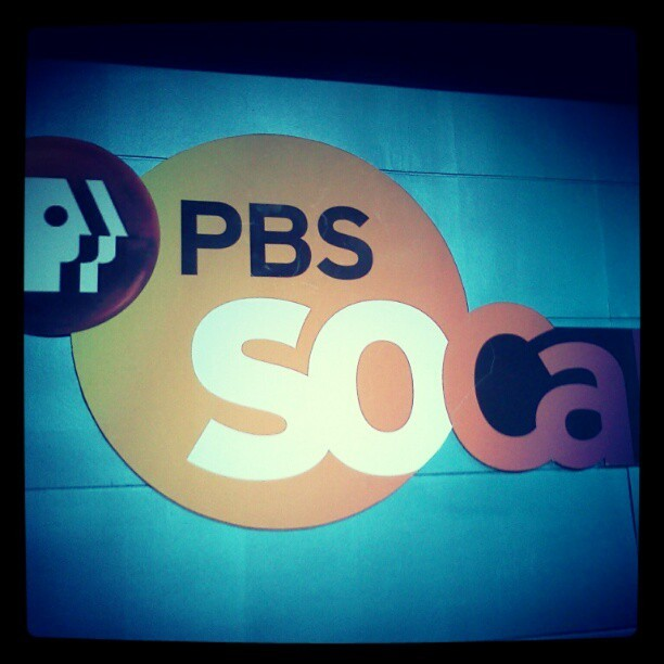 Loving my new internship! (Taken with Instagram at PBS SoCal Television Studio)