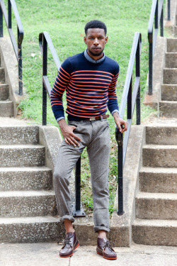 urbanemenswear:  Back to School  Love everything about this look