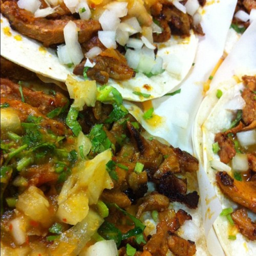 Taquería El Castillito: Still not like home but in the top tacos San Francisco has to offer (Taken with Instagram)