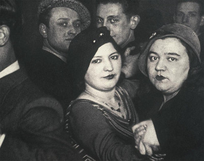 "medusasseveredhead:  ""1930s Lesbian Couple at Club"""