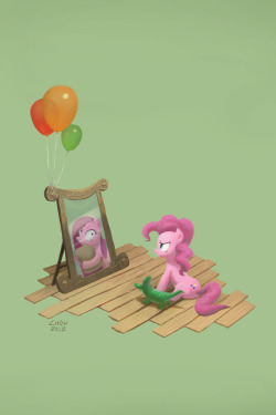 theponyartcollection:  Pinkie D. Pie by ~Chowdown