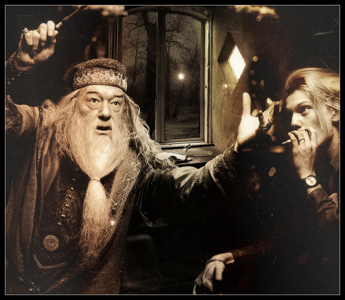 """He's mad for the boy next door"" Dumbledore/GrindelwaldAlbus clings to a delusion."