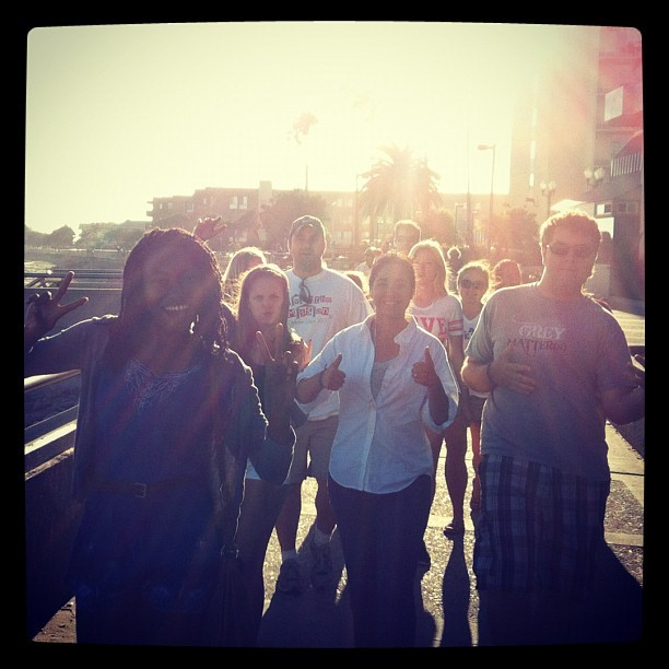 Anacapa Village and U-Glen at the boardwalk in #ventura. (Taken with Instagram)